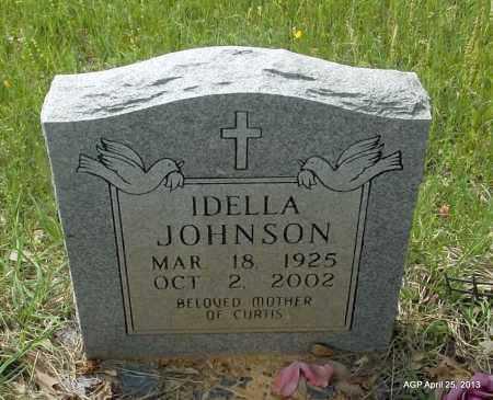 JOHNSON, IDELLA - Lafayette County, Arkansas   IDELLA JOHNSON - Arkansas Gravestone Photos