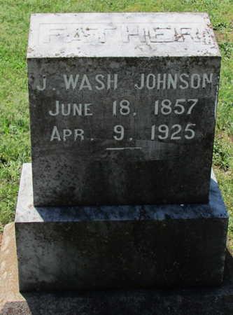 JOHNSON, J WASH - Lafayette County, Arkansas | J WASH JOHNSON - Arkansas Gravestone Photos