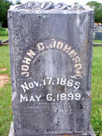 JOHNSON, JOHN C - Lafayette County, Arkansas   JOHN C JOHNSON - Arkansas Gravestone Photos