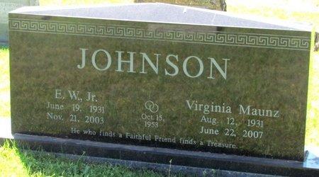 JOHNSON, VIRGINIA - Lafayette County, Arkansas | VIRGINIA JOHNSON - Arkansas Gravestone Photos