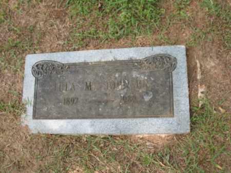 JOHNSON, LULA M - Lafayette County, Arkansas   LULA M JOHNSON - Arkansas Gravestone Photos