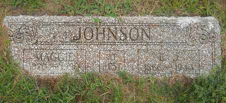 JOHNSON, MAGGIE - Lafayette County, Arkansas   MAGGIE JOHNSON - Arkansas Gravestone Photos