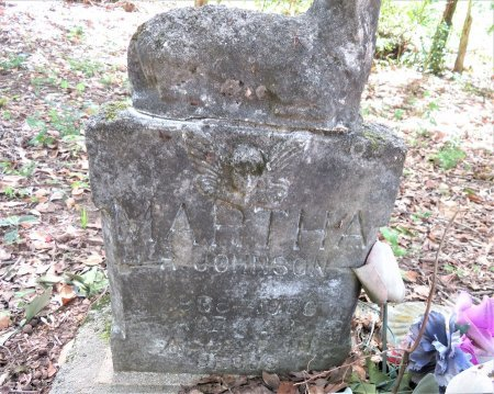 JOHNSON, MARTHA - Lafayette County, Arkansas   MARTHA JOHNSON - Arkansas Gravestone Photos