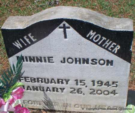 JOHNSON, MINNIE - Lafayette County, Arkansas   MINNIE JOHNSON - Arkansas Gravestone Photos