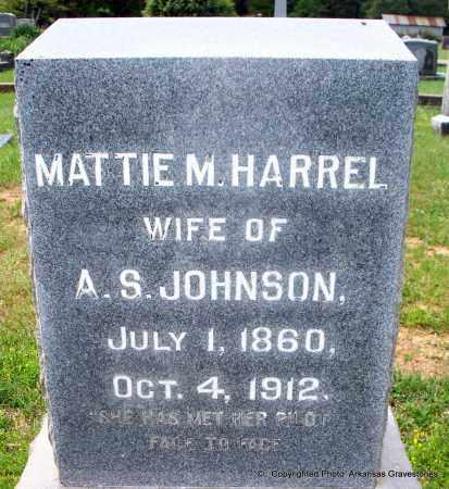 JOHNSON, MATTIE M - Lafayette County, Arkansas | MATTIE M JOHNSON - Arkansas Gravestone Photos