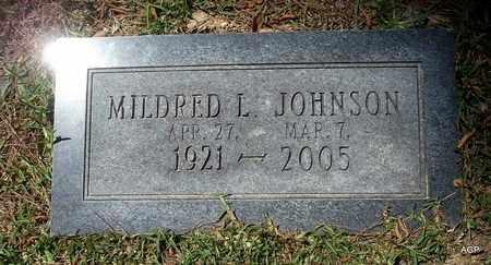JOHNSON, MILDRED L - Lafayette County, Arkansas   MILDRED L JOHNSON - Arkansas Gravestone Photos