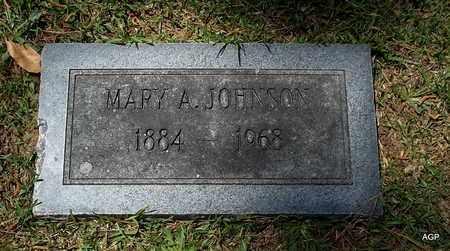 JOHNSON, MARY A - Lafayette County, Arkansas | MARY A JOHNSON - Arkansas Gravestone Photos