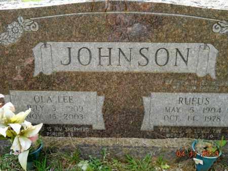 JOHNSON, RUFUS - Lafayette County, Arkansas | RUFUS JOHNSON - Arkansas Gravestone Photos