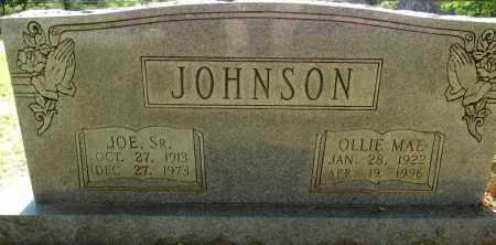 JOHNSON, OLLIE MAE - Lafayette County, Arkansas | OLLIE MAE JOHNSON - Arkansas Gravestone Photos