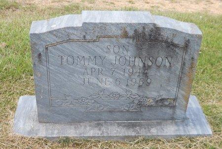 JOHNSON, TOMMY - Lafayette County, Arkansas   TOMMY JOHNSON - Arkansas Gravestone Photos