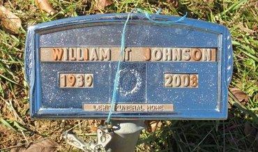 JOHNSON, WILLIAM T. - Lafayette County, Arkansas   WILLIAM T. JOHNSON - Arkansas Gravestone Photos