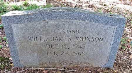 JOHNSON, WILLIE JAMES - Lafayette County, Arkansas   WILLIE JAMES JOHNSON - Arkansas Gravestone Photos