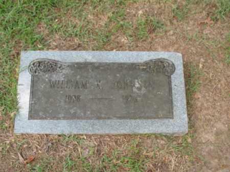 JOHNSON, WILLIAM K - Lafayette County, Arkansas | WILLIAM K JOHNSON - Arkansas Gravestone Photos