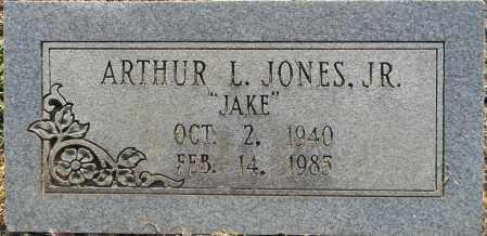 """JONES, JR, ARTHUR L """"JAKE"""" - Lafayette County, Arkansas   ARTHUR L """"JAKE"""" JONES, JR - Arkansas Gravestone Photos"""
