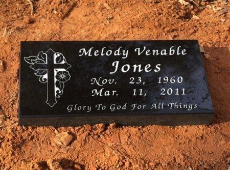 VENABLE JONES, MELODY - Lafayette County, Arkansas | MELODY VENABLE JONES - Arkansas Gravestone Photos
