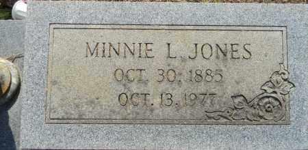 JONES, MINNIE L - Lafayette County, Arkansas | MINNIE L JONES - Arkansas Gravestone Photos