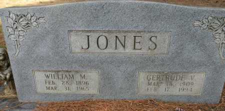 JONES, WILLIAM M - Lafayette County, Arkansas   WILLIAM M JONES - Arkansas Gravestone Photos