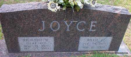 SMITH JOYCE, BILLIE  L - Lafayette County, Arkansas | BILLIE  L SMITH JOYCE - Arkansas Gravestone Photos