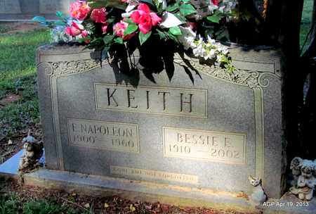 KEITH, E. NAPOLEON - Lafayette County, Arkansas | E. NAPOLEON KEITH - Arkansas Gravestone Photos