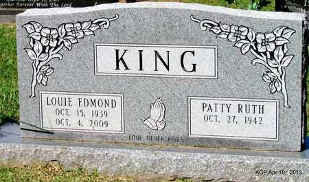 KING, LOUIE EDMOND - Lafayette County, Arkansas | LOUIE EDMOND KING - Arkansas Gravestone Photos