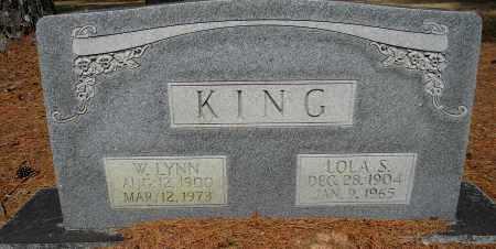 KING, LOLA S - Lafayette County, Arkansas | LOLA S KING - Arkansas Gravestone Photos