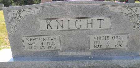 KNIGHT, VIRGIE OPAL - Lafayette County, Arkansas | VIRGIE OPAL KNIGHT - Arkansas Gravestone Photos