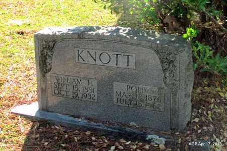 KNOTT, POLLY - Lafayette County, Arkansas   POLLY KNOTT - Arkansas Gravestone Photos