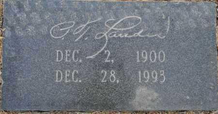 LANDES, P T - Lafayette County, Arkansas   P T LANDES - Arkansas Gravestone Photos
