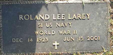 LAREY (VETERAN WWII), ROLAND LEE - Lafayette County, Arkansas   ROLAND LEE LAREY (VETERAN WWII) - Arkansas Gravestone Photos