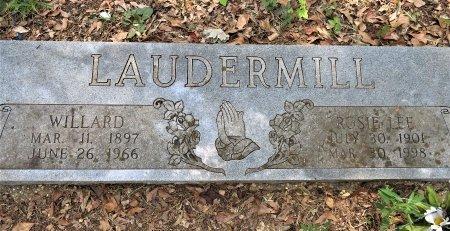 LAUDERMILL, WILLARD - Lafayette County, Arkansas | WILLARD LAUDERMILL - Arkansas Gravestone Photos