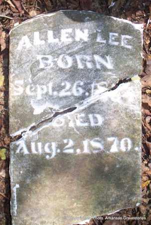 LEE, ALLEN - Lafayette County, Arkansas   ALLEN LEE - Arkansas Gravestone Photos