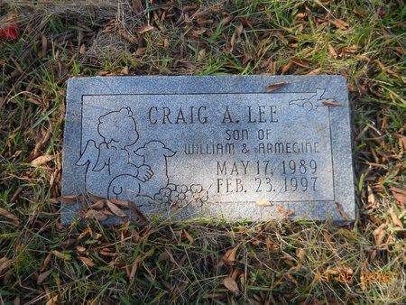 LEE, CRAIG A - Lafayette County, Arkansas | CRAIG A LEE - Arkansas Gravestone Photos