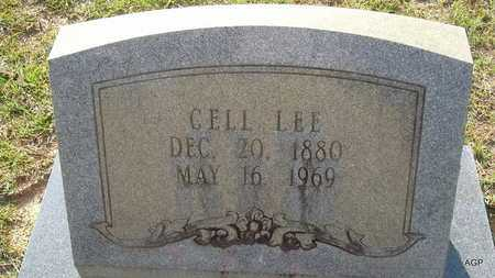 LEE, CELL - Lafayette County, Arkansas | CELL LEE - Arkansas Gravestone Photos