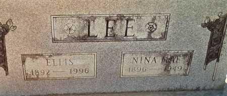 LEE, NINA MAE - Lafayette County, Arkansas | NINA MAE LEE - Arkansas Gravestone Photos