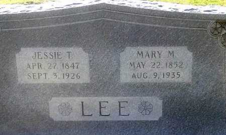 LEE, JESS - Lafayette County, Arkansas | JESS LEE - Arkansas Gravestone Photos