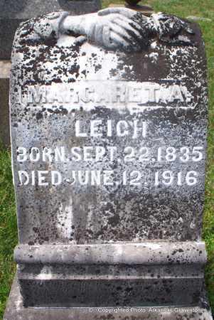 LEIGH, MARGARET A - Lafayette County, Arkansas   MARGARET A LEIGH - Arkansas Gravestone Photos