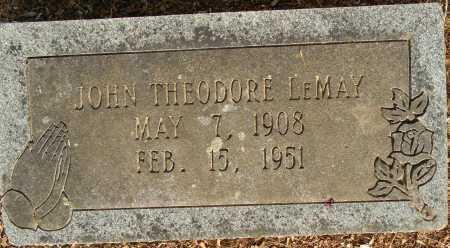 LEMAY, JOHN THEODORE - Lafayette County, Arkansas   JOHN THEODORE LEMAY - Arkansas Gravestone Photos