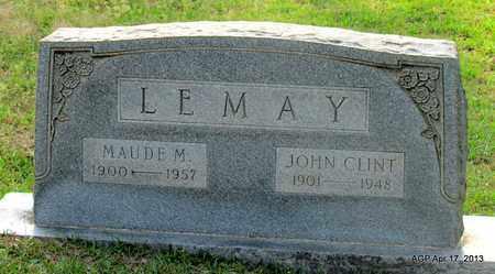 LEMAY, MAUDE M - Lafayette County, Arkansas   MAUDE M LEMAY - Arkansas Gravestone Photos