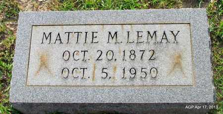 LEMAY, MATTIE M - Lafayette County, Arkansas   MATTIE M LEMAY - Arkansas Gravestone Photos