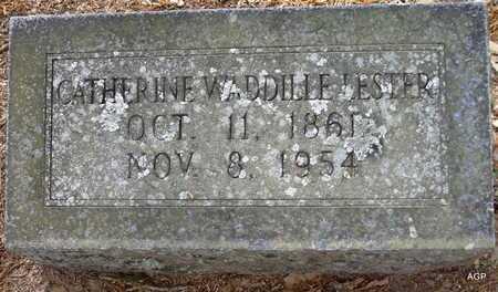 "WADDILLE LESTER, CATHERINE ""KITTY"" - Lafayette County, Arkansas   CATHERINE ""KITTY"" WADDILLE LESTER - Arkansas Gravestone Photos"
