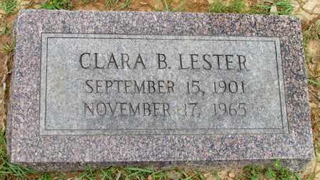 LESTER, CLARA B - Lafayette County, Arkansas | CLARA B LESTER - Arkansas Gravestone Photos