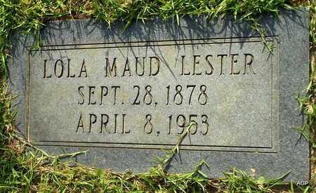LESTER, LOLA MAUD - Lafayette County, Arkansas | LOLA MAUD LESTER - Arkansas Gravestone Photos