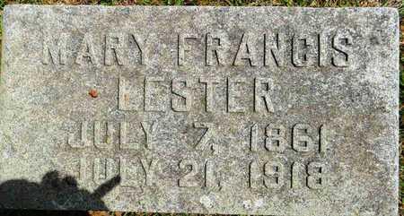 LESTER, MARY FRANCIS - Lafayette County, Arkansas   MARY FRANCIS LESTER - Arkansas Gravestone Photos