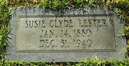 CLYDE LESTER, SUSIE - Lafayette County, Arkansas   SUSIE CLYDE LESTER - Arkansas Gravestone Photos