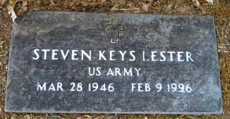LESTER (VETERAN), STEVEN KEYS - Lafayette County, Arkansas   STEVEN KEYS LESTER (VETERAN) - Arkansas Gravestone Photos