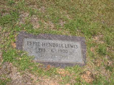 LEWIS, EFFIE - Lafayette County, Arkansas | EFFIE LEWIS - Arkansas Gravestone Photos