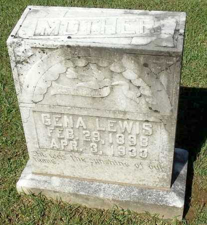 LEWIS, GENA - Lafayette County, Arkansas | GENA LEWIS - Arkansas Gravestone Photos