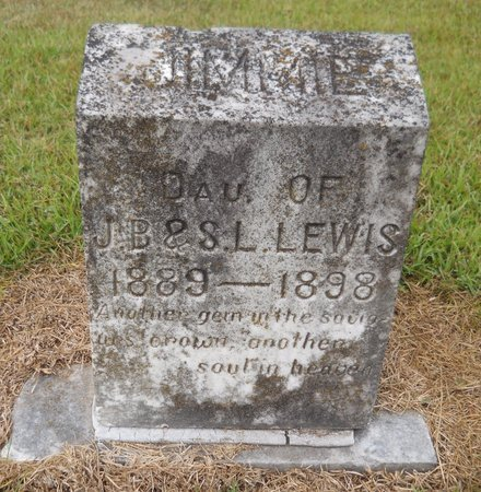 LEWIS, JIMMIE - Lafayette County, Arkansas | JIMMIE LEWIS - Arkansas Gravestone Photos