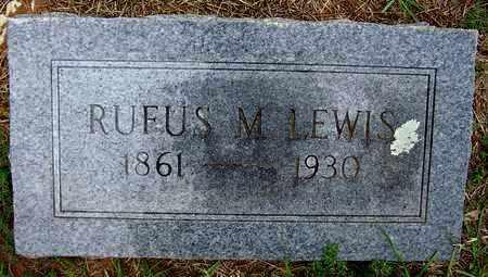 LEWIS, RUFUS M - Lafayette County, Arkansas | RUFUS M LEWIS - Arkansas Gravestone Photos