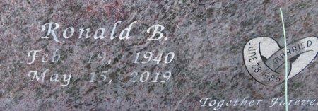 LEWIS, RONALD B. (CLOSEUP) - Lafayette County, Arkansas   RONALD B. (CLOSEUP) LEWIS - Arkansas Gravestone Photos